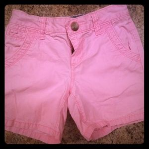 Girls old navy pink shorts Size 8